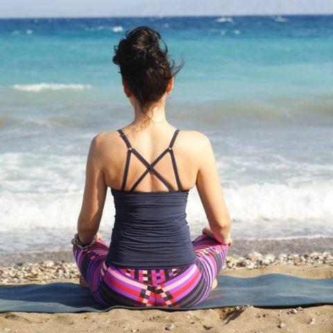 Yoga in vacanza d'estate